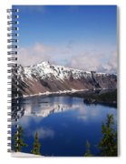 Crater Lake - Oregon Spiral Notebook