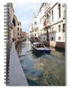 Cruisin' The Canals Spiral Notebook