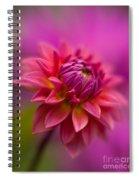 Dahlia Burst Spiral Notebook