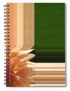 Dahlia Named Intrepid Spiral Notebook