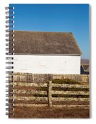 Dairy Buildings At Historic Pierce Spiral Notebook