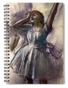 Dancer Stretching Spiral Notebook