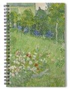 Daubigny's Garden Spiral Notebook