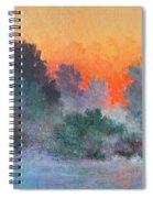 Dawn Mist Spiral Notebook