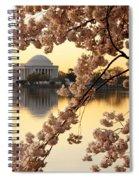 Dawn Over The Jefferson Memorial  Spiral Notebook