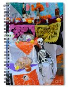 Day Of The Dead Altar, Mexico Spiral Notebook