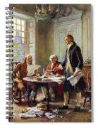 Declaration Committee Spiral Notebook