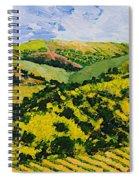 Deep Valley Spiral Notebook