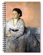 Degas' Madame Rene De Gas Spiral Notebook