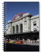 Denver - Union Station Spiral Notebook