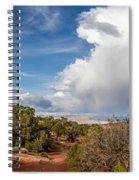 Desert Clouds Spiral Notebook