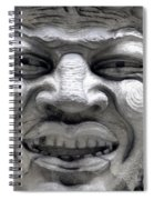 Devilish Smile Spiral Notebook