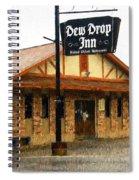 Dew Drop Inn Spiral Notebook