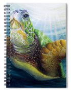 Diving The Depths Spiral Notebook