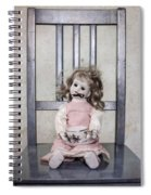 Doll With Tea Cup Spiral Notebook