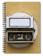 Doorbells Spiral Notebook