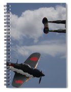 Down One Spiral Notebook
