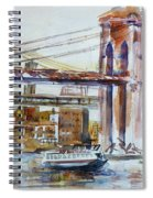 Downtown Bridge Spiral Notebook