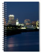 Downtown Indianapolis Indiana Spiral Notebook