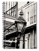 Dressed For The Party - Expresso Toned Spiral Notebook