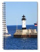 Duluth Mn Harbor Spiral Notebook