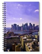 Dumbo View Of Lower Manhattan Spiral Notebook