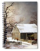 Durrie's Winter In The Country Spiral Notebook