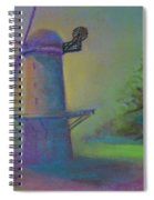 Dutch Windmill 02 Spiral Notebook