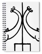 Early Christian Symbol Spiral Notebook