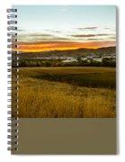 East End Of Emmett Valley Spiral Notebook