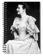 Edith K Spiral Notebook