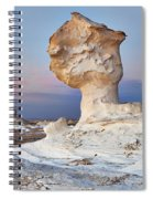 Egytians White Desert Spiral Notebook
