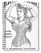 Electric Corset, 1882 Spiral Notebook