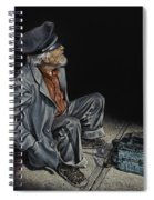 Empty Pockets Spiral Notebook