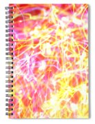 Energy Lines Spiral Notebook