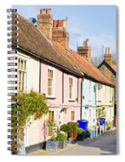 English Cottages Spiral Notebook