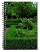 English Garden Spiral Notebook