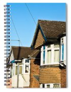 English Houses Spiral Notebook
