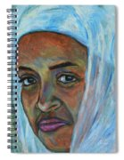 Ethiopian Lady Spiral Notebook