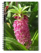 Eucomis Named Leia Spiral Notebook