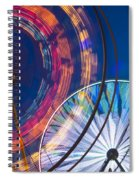 Evergreen State Fair Ferris Wheel Spiral Notebook