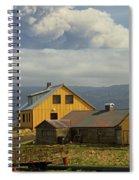 Eyjafjallaj�kull Ash Cloud, Iceland Spiral Notebook