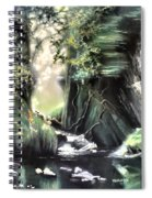 Fairy Glen Spiral Notebook