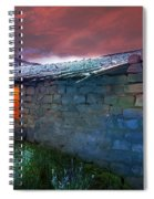 Fairy Tale Cabin Spiral Notebook