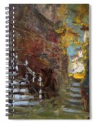 Fall In Albanian Village  Spiral Notebook