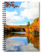 Autumn In Upper Michigan Spiral Notebook