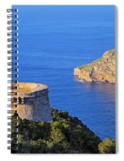 Famous Tower Of Savinar On Ibiza Island Spiral Notebook