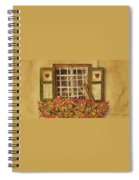 Farm Window Spiral Notebook