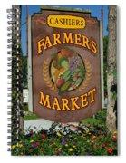 Farmers Market Spiral Notebook