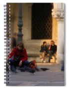 Feed The Birds Spiral Notebook